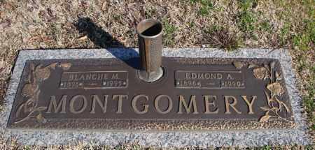 MONTGOMERY, EDMOND A. - Faulkner County, Arkansas | EDMOND A. MONTGOMERY - Arkansas Gravestone Photos