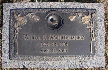 MONTGOMERY, VALDA F. - Faulkner County, Arkansas | VALDA F. MONTGOMERY - Arkansas Gravestone Photos