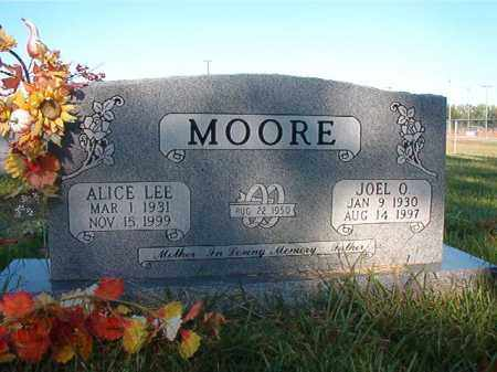 MOORE, ALICE LEE - Faulkner County, Arkansas | ALICE LEE MOORE - Arkansas Gravestone Photos