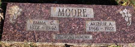 MOORE, ARTHUR A. - Faulkner County, Arkansas | ARTHUR A. MOORE - Arkansas Gravestone Photos