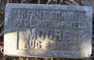 MOORE, INFANT SON - Faulkner County, Arkansas | INFANT SON MOORE - Arkansas Gravestone Photos