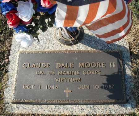 MOORE II (VETERAN VIET), CLAUDE DALE - Faulkner County, Arkansas | CLAUDE DALE MOORE II (VETERAN VIET) - Arkansas Gravestone Photos