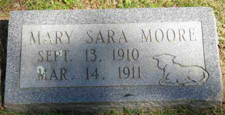 MOORE, MARY SARA - Faulkner County, Arkansas | MARY SARA MOORE - Arkansas Gravestone Photos