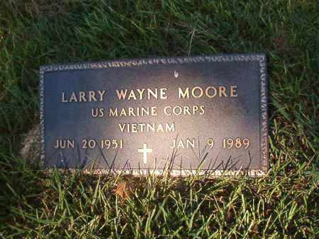 MOORE (VETERAN VIET), LARRY WAYNE - Faulkner County, Arkansas | LARRY WAYNE MOORE (VETERAN VIET) - Arkansas Gravestone Photos