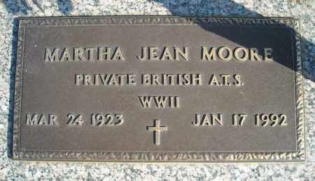 MOORE (VETERAN WWII), MARTHA JEAN - Faulkner County, Arkansas | MARTHA JEAN MOORE (VETERAN WWII) - Arkansas Gravestone Photos