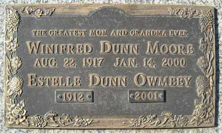 DUNN OWMBEY, ESTELLE - Faulkner County, Arkansas | ESTELLE DUNN OWMBEY - Arkansas Gravestone Photos