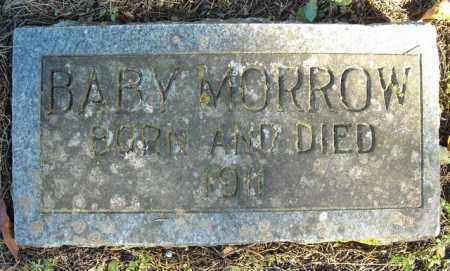 MORROW, BABY - Faulkner County, Arkansas | BABY MORROW - Arkansas Gravestone Photos