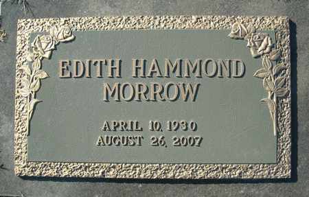 HAMMOND MORROW, EDITH - Faulkner County, Arkansas | EDITH HAMMOND MORROW - Arkansas Gravestone Photos