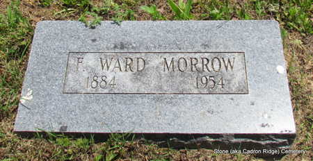 MORROW, F WARD - Faulkner County, Arkansas | F WARD MORROW - Arkansas Gravestone Photos
