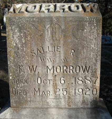 MORROW, SALLIE R. - Faulkner County, Arkansas | SALLIE R. MORROW - Arkansas Gravestone Photos