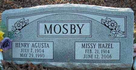 MOSBY, MISSY HAZEL - Faulkner County, Arkansas | MISSY HAZEL MOSBY - Arkansas Gravestone Photos