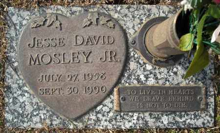 MOSLEY, JR., JESSE DAVID - Faulkner County, Arkansas | JESSE DAVID MOSLEY, JR. - Arkansas Gravestone Photos
