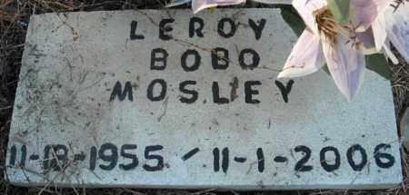MOSLEY, LEROY BOBO - Faulkner County, Arkansas | LEROY BOBO MOSLEY - Arkansas Gravestone Photos