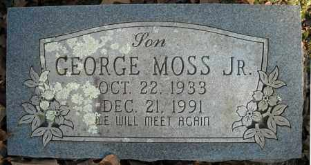 MOSS, JR., GEORGE - Faulkner County, Arkansas | GEORGE MOSS, JR. - Arkansas Gravestone Photos