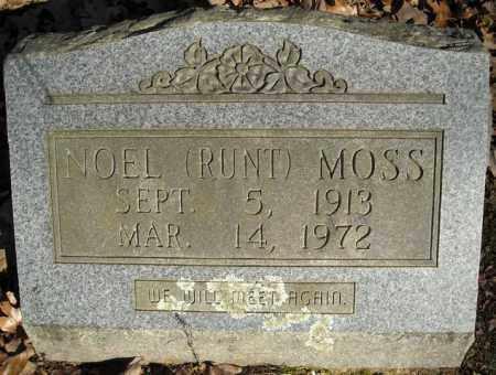 RUNT MOSS, NOEL - Faulkner County, Arkansas | NOEL RUNT MOSS - Arkansas Gravestone Photos