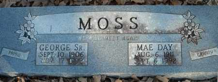 DAY MOSS, MAE - Faulkner County, Arkansas | MAE DAY MOSS - Arkansas Gravestone Photos