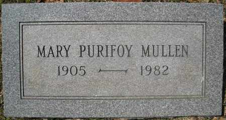 PURIFOY MULLEN, MARY - Faulkner County, Arkansas | MARY PURIFOY MULLEN - Arkansas Gravestone Photos