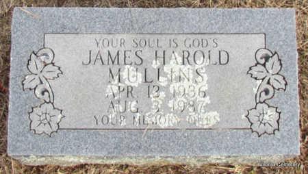 MULLINS, JAMES HAROLD - Faulkner County, Arkansas | JAMES HAROLD MULLINS - Arkansas Gravestone Photos