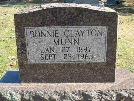 MUNN, BONNIE CLAYTON - Faulkner County, Arkansas | BONNIE CLAYTON MUNN - Arkansas Gravestone Photos