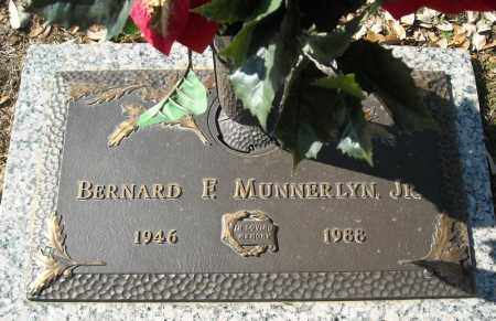 MUNNERLYN, JR., BERNARD F. - Faulkner County, Arkansas | BERNARD F. MUNNERLYN, JR. - Arkansas Gravestone Photos