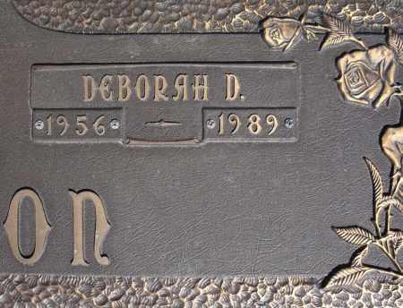 MUNSON, DEBORAH D. (CLOSE UP) - Faulkner County, Arkansas | DEBORAH D. (CLOSE UP) MUNSON - Arkansas Gravestone Photos