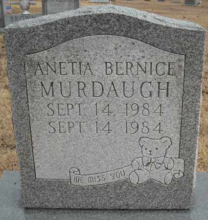 MURDAUGH, ANETIA BERNICE - Faulkner County, Arkansas | ANETIA BERNICE MURDAUGH - Arkansas Gravestone Photos