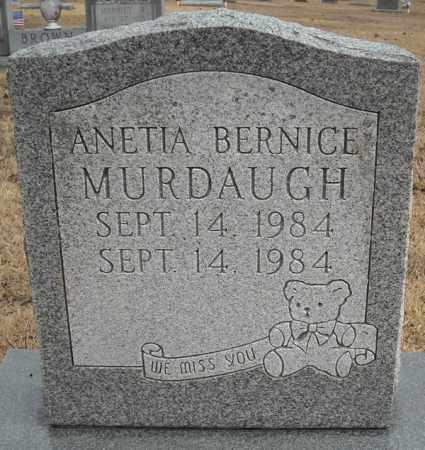 MURDAUGH, ANETIA BERNICE - Faulkner County, Arkansas | ANETIA BERNICE MURDAUGH - Arkansas Gravestone Photos