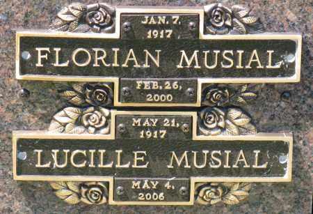 MUSIAL, FLORIAN - Faulkner County, Arkansas | FLORIAN MUSIAL - Arkansas Gravestone Photos