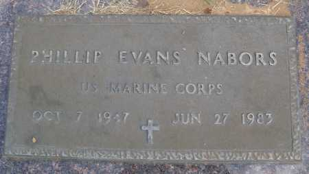 NABORS  (VETERAN), PHILLIP EVANS - Faulkner County, Arkansas | PHILLIP EVANS NABORS  (VETERAN) - Arkansas Gravestone Photos