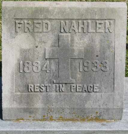NAHLEN, FRED - Faulkner County, Arkansas | FRED NAHLEN - Arkansas Gravestone Photos