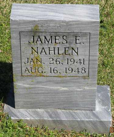 NAHLEN, JAMES E. - Faulkner County, Arkansas | JAMES E. NAHLEN - Arkansas Gravestone Photos