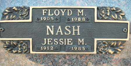 NASH, FLOYD M. - Faulkner County, Arkansas | FLOYD M. NASH - Arkansas Gravestone Photos