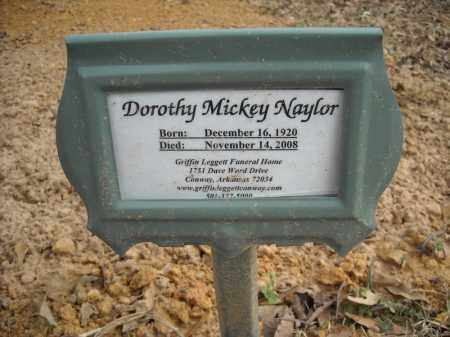 NAYLOR, DOROTHY MICKEY - Faulkner County, Arkansas | DOROTHY MICKEY NAYLOR - Arkansas Gravestone Photos