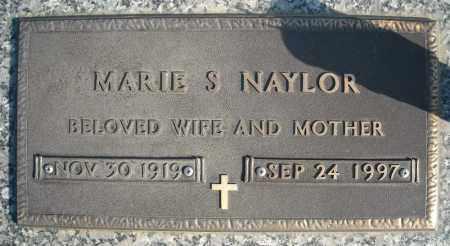 NAYLOR, MARIE S - Faulkner County, Arkansas | MARIE S NAYLOR - Arkansas Gravestone Photos