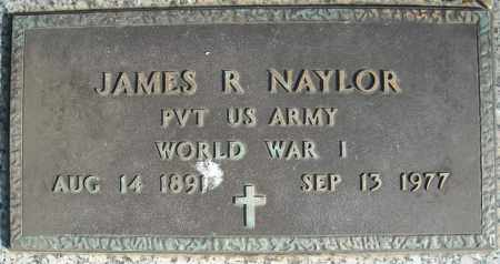 NAYLOR (VETERAN WWI), JAMES R (CLOSE UP) - Faulkner County, Arkansas | JAMES R (CLOSE UP) NAYLOR (VETERAN WWI) - Arkansas Gravestone Photos