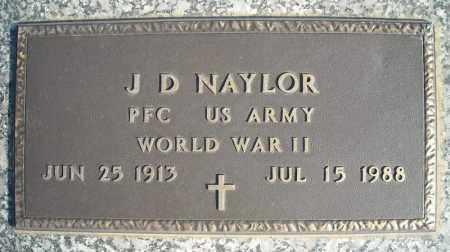 NAYLOR (VETERAN WWII), J D - Faulkner County, Arkansas | J D NAYLOR (VETERAN WWII) - Arkansas Gravestone Photos