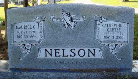 NELSON, MAURICE C. - Faulkner County, Arkansas | MAURICE C. NELSON - Arkansas Gravestone Photos