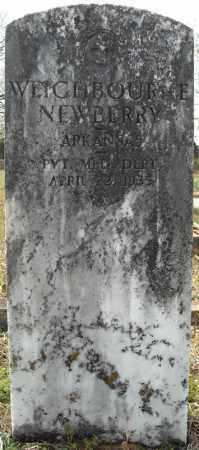 NEWBERRY (VETERAN), WEIGHBOURNE - Faulkner County, Arkansas | WEIGHBOURNE NEWBERRY (VETERAN) - Arkansas Gravestone Photos