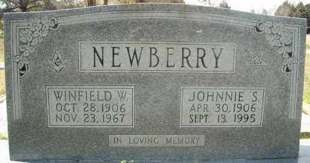 NEWBERRY, WINFIELD W. - Faulkner County, Arkansas   WINFIELD W. NEWBERRY - Arkansas Gravestone Photos