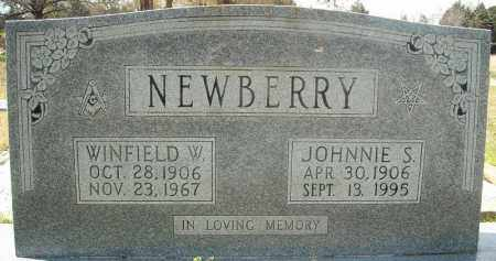 NEWBERRY, JOHNNIE S. - Faulkner County, Arkansas | JOHNNIE S. NEWBERRY - Arkansas Gravestone Photos