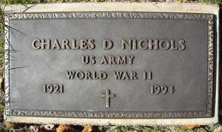 NICHOLS  (VETERAN  WWII), CHARLES D - Faulkner County, Arkansas | CHARLES D NICHOLS  (VETERAN  WWII) - Arkansas Gravestone Photos
