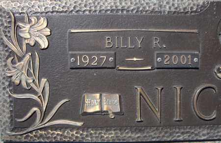 NICHOLS, BILLY R. (CLOSE UP) - Faulkner County, Arkansas | BILLY R. (CLOSE UP) NICHOLS - Arkansas Gravestone Photos