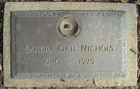 NICHOLS, SANDRA GAIL - Faulkner County, Arkansas | SANDRA GAIL NICHOLS - Arkansas Gravestone Photos