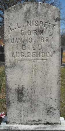 NISBETT, L.L. - Faulkner County, Arkansas   L.L. NISBETT - Arkansas Gravestone Photos