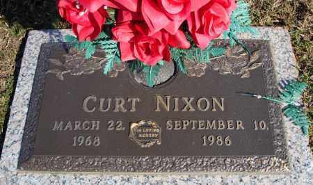 NIXON, CURT - Faulkner County, Arkansas | CURT NIXON - Arkansas Gravestone Photos