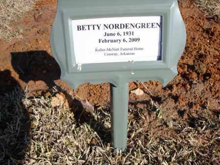 NORDENGREEN, BETTY - Faulkner County, Arkansas | BETTY NORDENGREEN - Arkansas Gravestone Photos