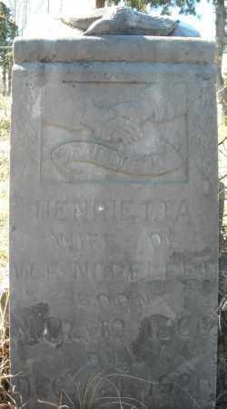 NORFLEET, HENRIETTA - Faulkner County, Arkansas | HENRIETTA NORFLEET - Arkansas Gravestone Photos