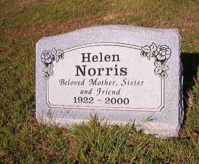 NORRIS, HELEN - Faulkner County, Arkansas | HELEN NORRIS - Arkansas Gravestone Photos