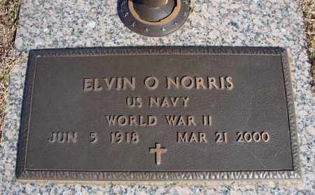 NORRIS (VETERAN WWII), ELVIN O - Faulkner County, Arkansas | ELVIN O NORRIS (VETERAN WWII) - Arkansas Gravestone Photos