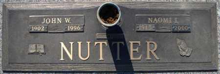NUTTER, JOHN W. - Faulkner County, Arkansas | JOHN W. NUTTER - Arkansas Gravestone Photos